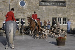 V L Hunt Opening Meet Redwill Inn