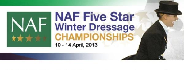 NAF Five Star Winter Dressage Championships 2013